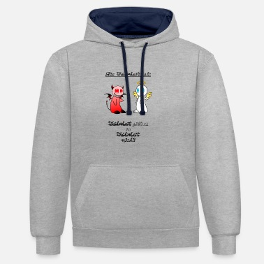 Truth The truth is truth is in truth ... - Unisex Contrast Hoodie