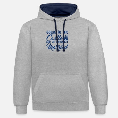 Tale Fairy Tales: Going To The Castle And We Gonna Get Marr - Unisex Contrast Hoodie