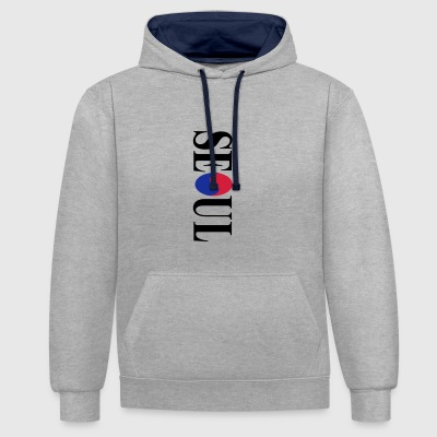 Seoul - Contrast Colour Hoodie
