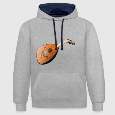 mandoline - Sweat-shirt contraste