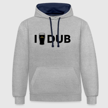 IDrinkDUB - Sweat-shirt contraste