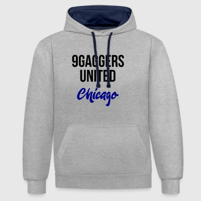 9gagger Chicago - Sweat-shirt contraste