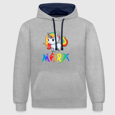 Unicorn Marx - Sweat-shirt contraste