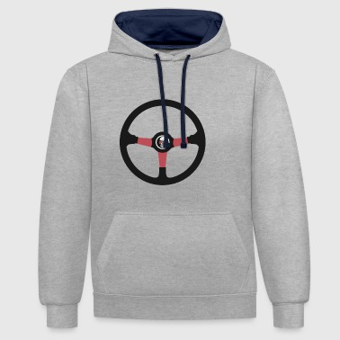 volant de course 1001 - Sweat-shirt contraste
