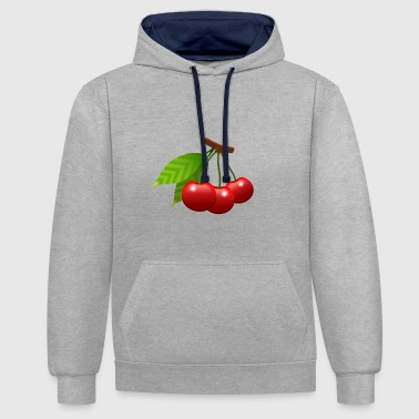 cerises 1991042 - Sweat-shirt contraste