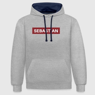 Sebastian - Sweat-shirt contraste