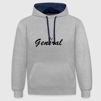 General - Contrast Colour Hoodie