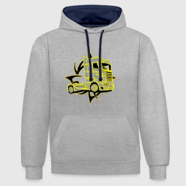 Truck  - Sweat-shirt contraste