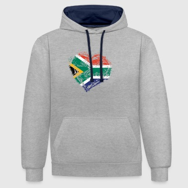 HOME ROOTS COUNTRY POISON LOVE South africa - Contrast Colour Hoodie