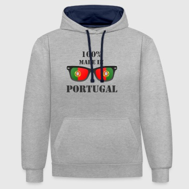Fabriqué au Portugal - Sweat-shirt contraste