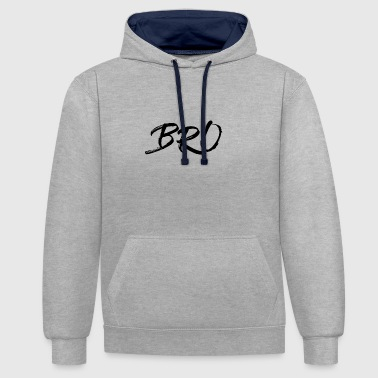 Bro original - Sweat-shirt contraste