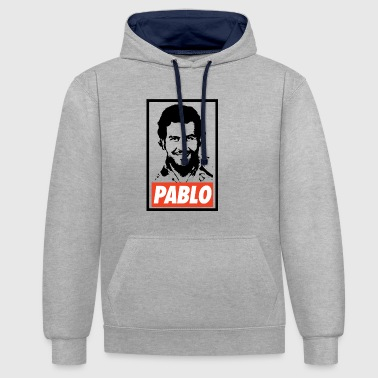 Pablo Escobar Obey - Narcos - Sweat-shirt contraste