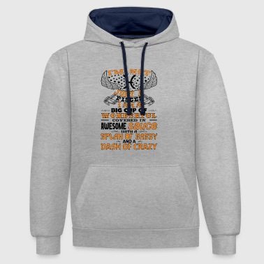 I'm not Just A Pisces! - Contrast Colour Hoodie