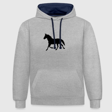 cheval - Sweat-shirt contraste