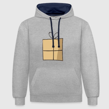 present 3 - Contrast Colour Hoodie
