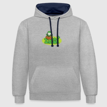 IRLANDAIS - Sweat-shirt contraste