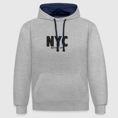 NYC - Sweat-shirt contraste
