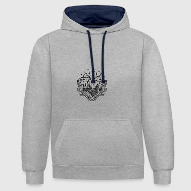 Wizardry - Contrast Colour Hoodie