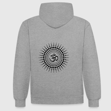 Om Sun - Sweat-shirt contraste