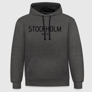stockholm - Sweat-shirt contraste