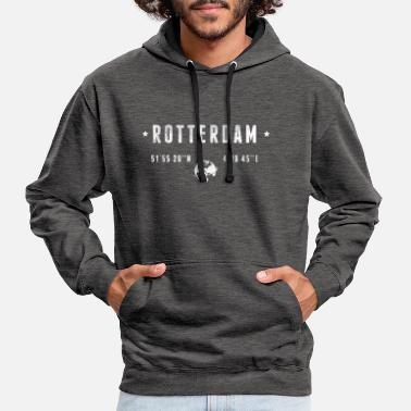 Rotterdam Rotterdam  - Contrast Colour Hoodie