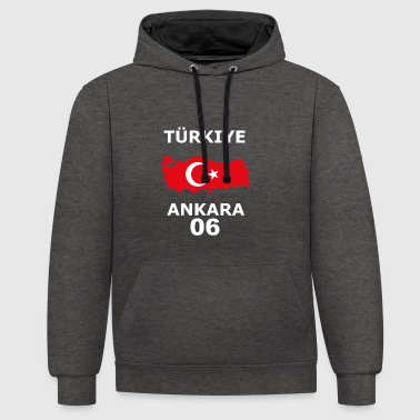 Ankara - Sweat-shirt contraste