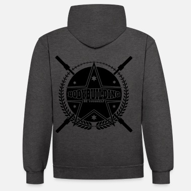 Bodybuilding Bodybuilding - Sweat-shirt contraste