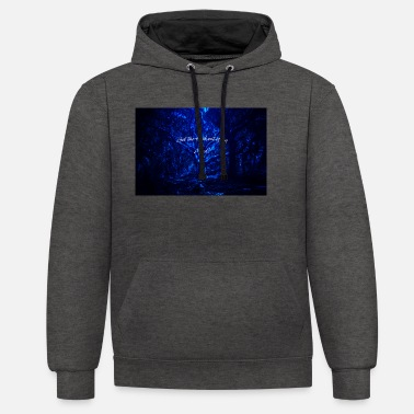 Get the fuck out of my mind - Unisex Contrast Hoodie