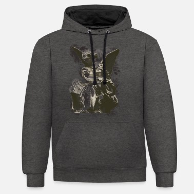Fishing Rod fishing rod - Unisex Contrast Hoodie