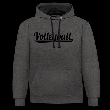 2541614 127335301 Volley-ball - Sweat-shirt contraste
