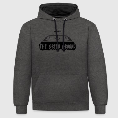 The Green Ground - Contrast hoodie