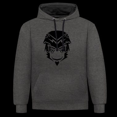The Monkey King Fighter (v2) - Contrast Colour Hoodie