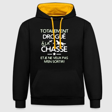 totalement chasseur - Sweat-shirt contraste