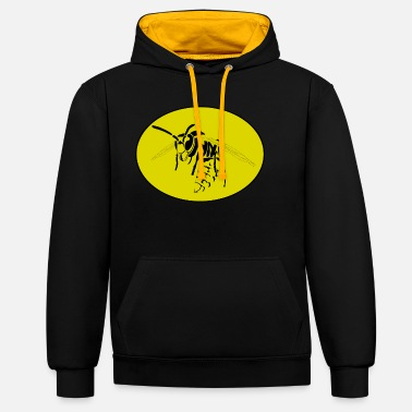 Wasp wasp - Unisex Contrast Hoodie