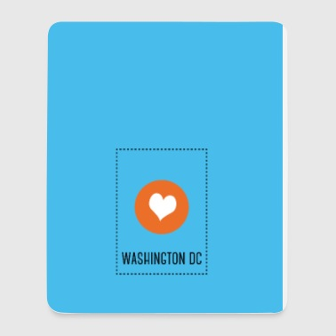 I Love Washington DC - Case - Tapis de souris (format portrait)