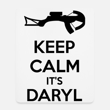 Keep Calm Keep Calm It's Daryl - Tappetino per mouse (verticale)
