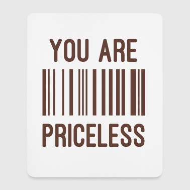 priceless - Mousepad (Hochformat)