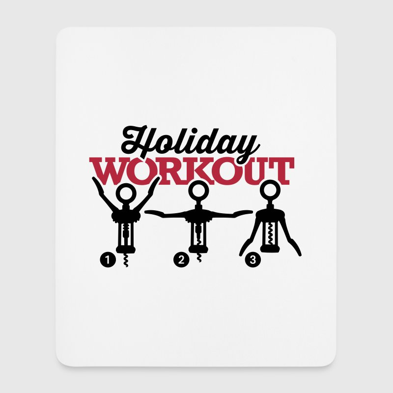 Holiday workout corkscrew - Mouse Pad (vertical)