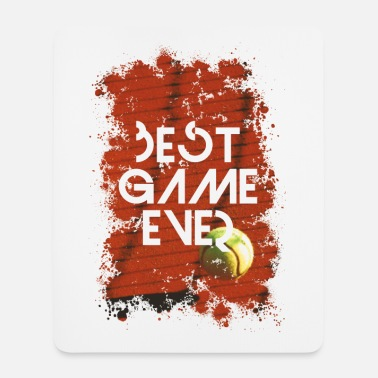 BEST GAME EVER - TENNIS - Mousepad (Hochformat)