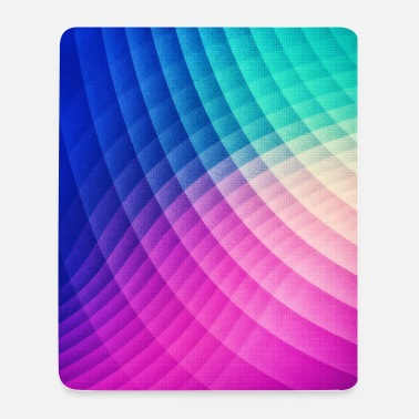Abstract Colorful Art Pattern (Pride - Texture) - Mousepad (Hochformat)