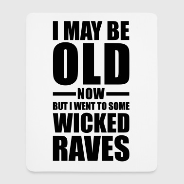 Wicked Raves EDM Quote - Tappetino per mouse (verticale)