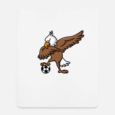 Football Team &amp Dabbing dab American Eagle soccer football - Mouse Pad
