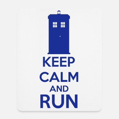 Keep Calm Keep Calm And Run - Tappetino per mouse (verticale)
