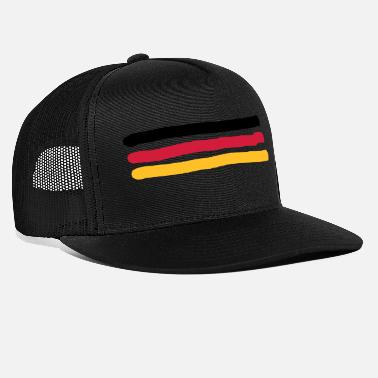 Black Red Gold Black Red Gold - Trucker Cap