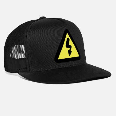 Road Sign Electricity road sign - Trucker Cap