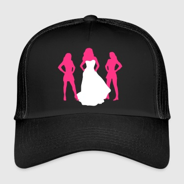 Despedida De Soltero Bride, hen party, bachelorette party - Gorra de camionero