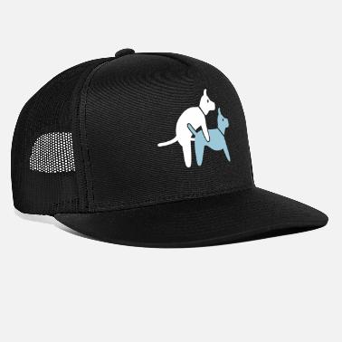 Sex Two Dogs Make It In The Doggy Position - Trucker Cap