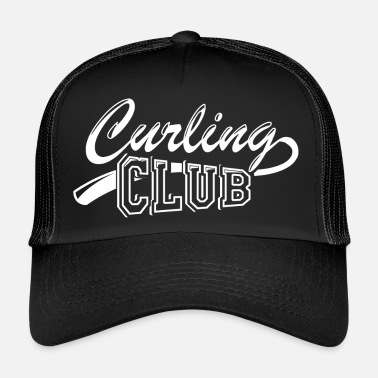Association Curling Club Association - Trucker Cap