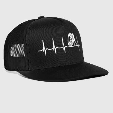 Heartbeat Strongman Shirt Strengthener Champion - Trucker Cap