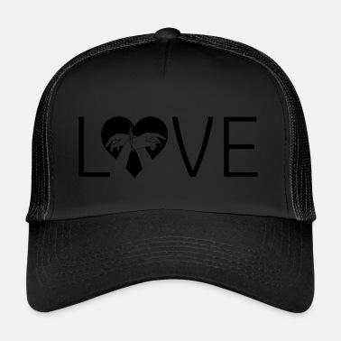 Bondage Love bondage heart handcuffed love - Trucker Cap